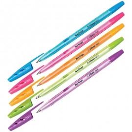Długopis Berlingo Tribase neon, trójkątny obszar chwytu