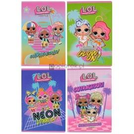 Zeszyt A5/32k kratka licencja LOL UNIPAP Mix dziewczęcy
