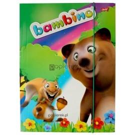 Teczka szkolna z gumką Bambino A4