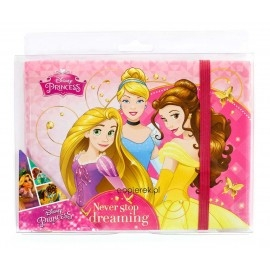 Pamiętnik z gumką Disney Princess - Księżniczki