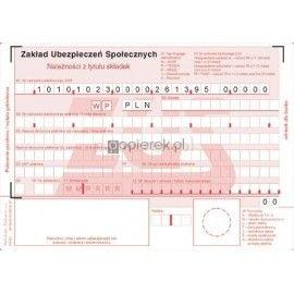 POLECENIE PRZELEWU A6/ZUS K-40/ZUS