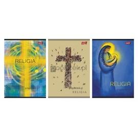 Zeszyt w okładce laminowanej Religia A5/60k Unipap