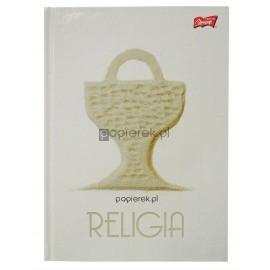 Brulion w twardej oprawie A5/80k Religia Unipap