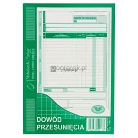 Dowód przesunięcia 310-3 Michalczyk i Prokop A5