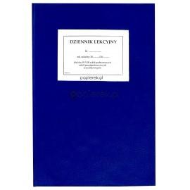 Dziennik lekcyjny dla klas I-III,  IV-VIII