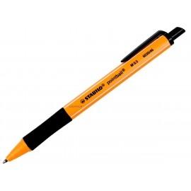 Długopis automatyczny Stabilo Pointball 6030/46 czarny