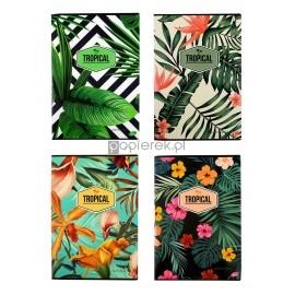Zeszyt A4 kratka 60k 80g/m2 kolekcja Tropical