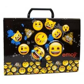 Teczka z rączką gruba A4 Emoji 12