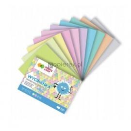 Blok wycinanka Happy Color A5 10k papier pastelowy