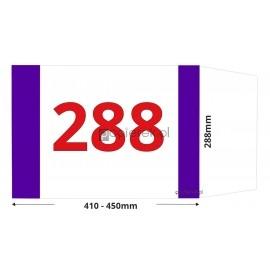 Okładka na książki regulowana 288mm x 410-450mm