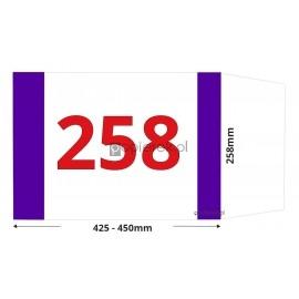 Okładka regulowana 258 mm x 425-450