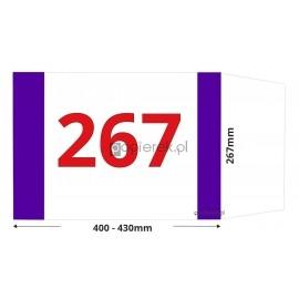 Okładka regulowana 267mmm x 400-430