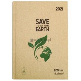 Kalendarz dzienny A5 ECO drzewo Herlitz 2021 rok