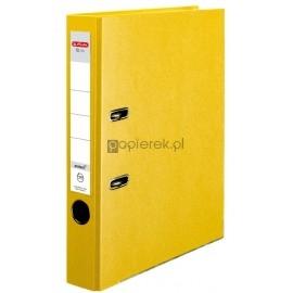 Segregator żółty Herlitz A4 50mm