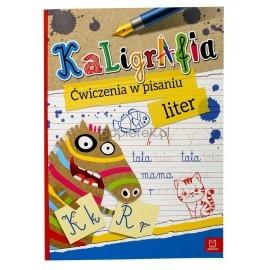 Kaligrafia. Ćwiczenia w pisaniu liter